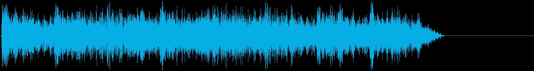 払い出し音・答え・結果の再生済みの波形