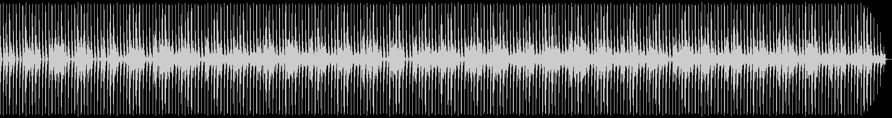 アップテンポなボイスパーカッションの未再生の波形