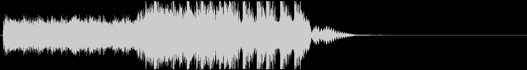 生演奏メタルなアイキャッチ2の未再生の波形