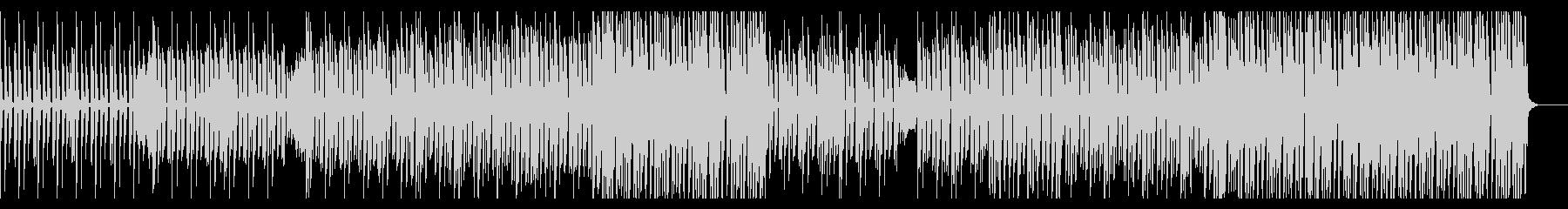 ファンキーなダンスミュージックBGMの未再生の波形
