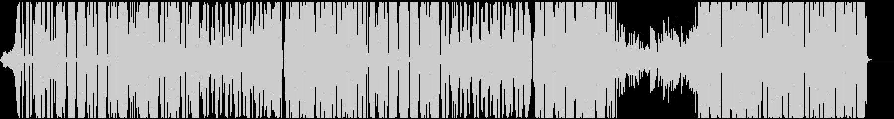 生アコギ、ネオン、VIP、ピアノ旋律の未再生の波形