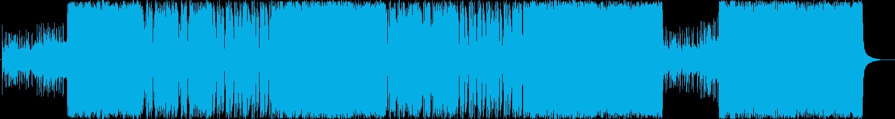 哀愁漂うアナログ和風ロックの再生済みの波形