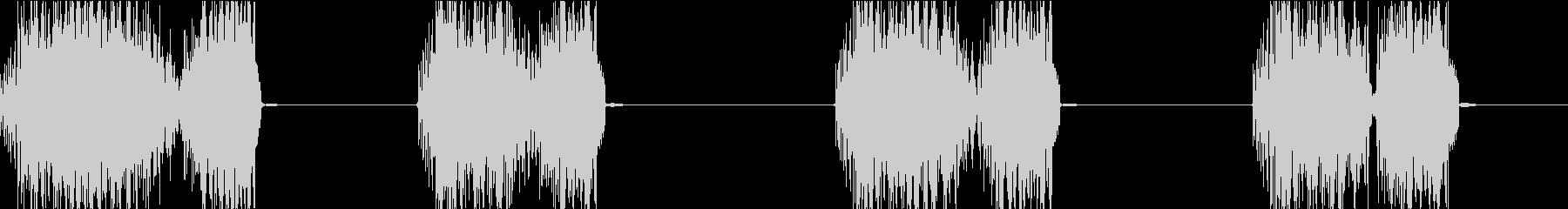 DJプレイ スクラッチ・ノイズ 133の未再生の波形