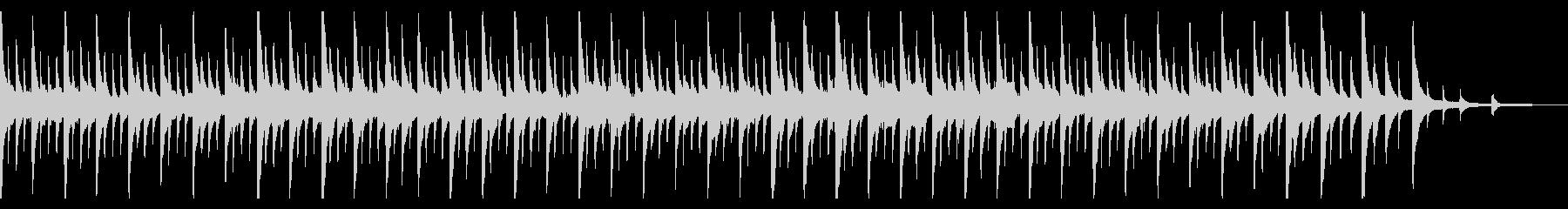 ハワイ 癒しのピアノ リラックスの未再生の波形