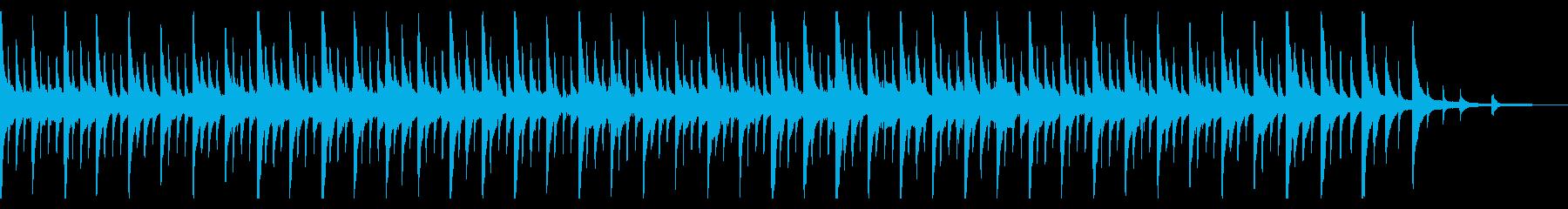 ハワイ 癒しのピアノ リラックスの再生済みの波形