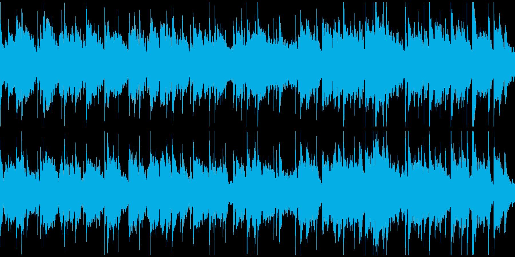 睡眠、夢、リラクゼーション ※ループ版の再生済みの波形