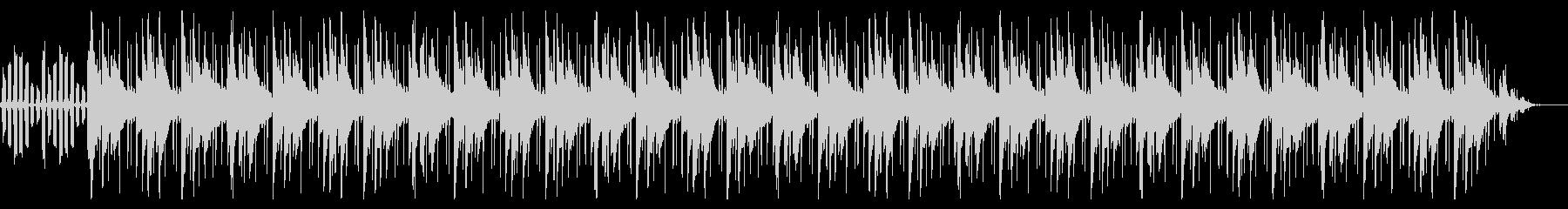 暗いビートトリップ感の未再生の波形