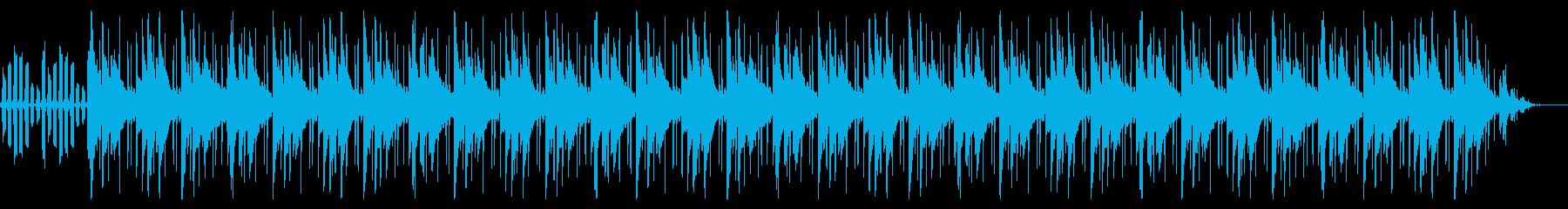 暗いビートトリップ感の再生済みの波形