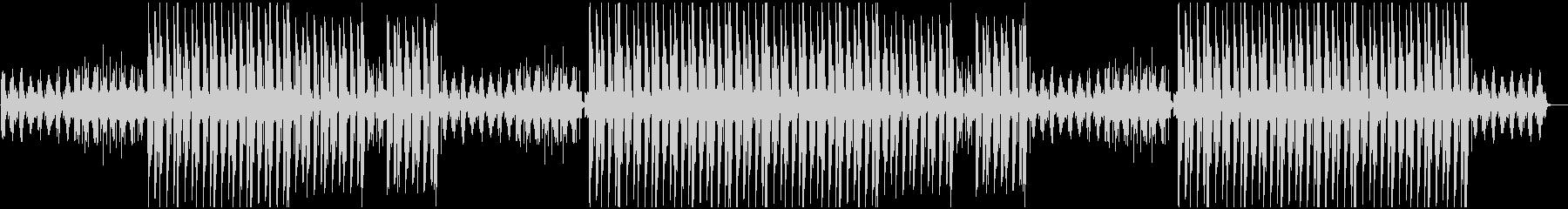 切ないエモーショナルnヒップホップビートの未再生の波形