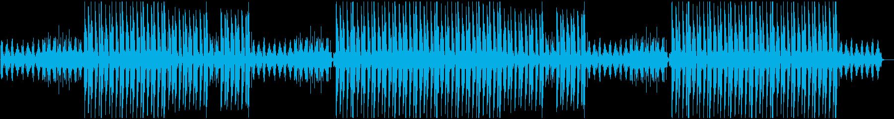 切ないエモーショナルnヒップホップビートの再生済みの波形