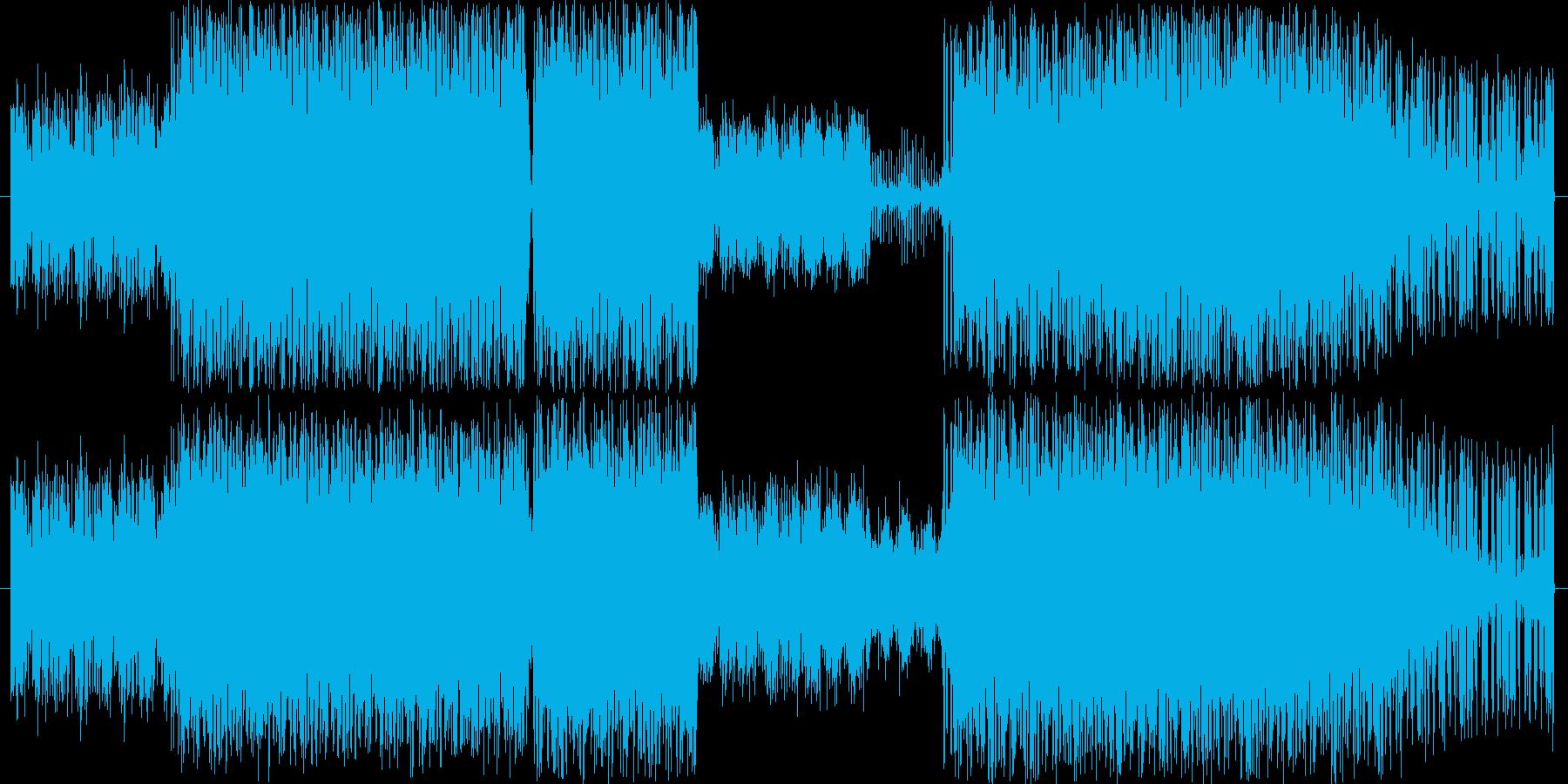 幻想的なインストHIPHOPの再生済みの波形