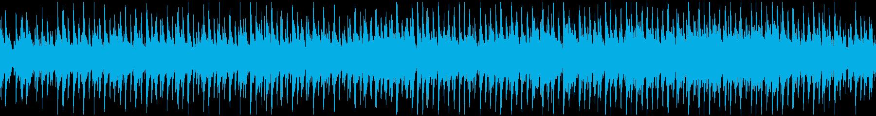 ほのぼのウクレレ生演奏曲 ※ループ仕様版の再生済みの波形