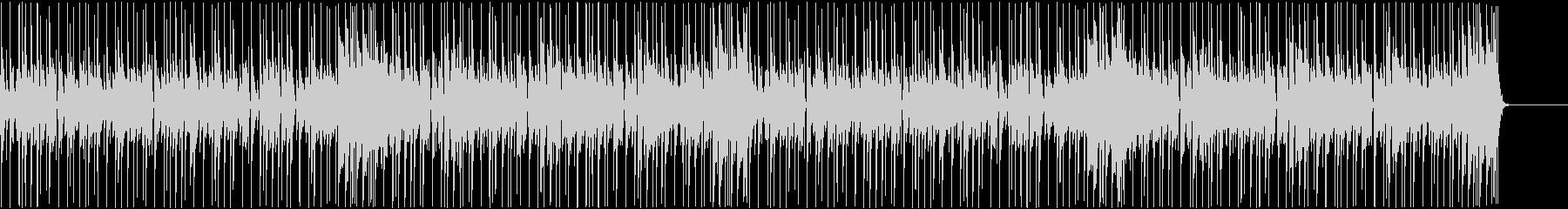 生演奏のファンク。アフロ系。ループ版の未再生の波形