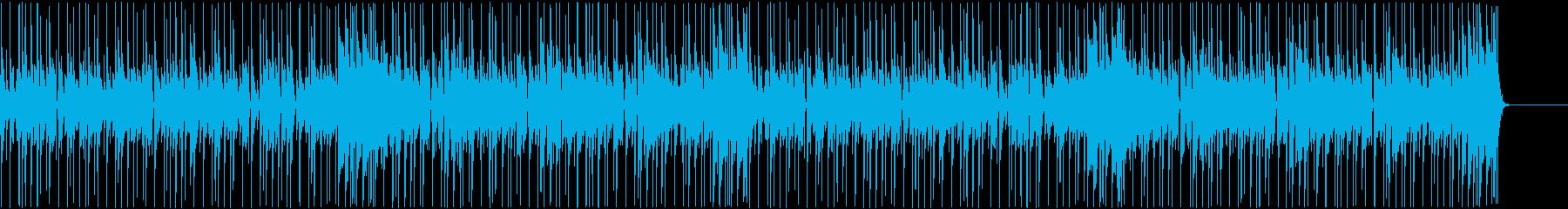 生演奏のファンク。アフロ系。ループ版の再生済みの波形