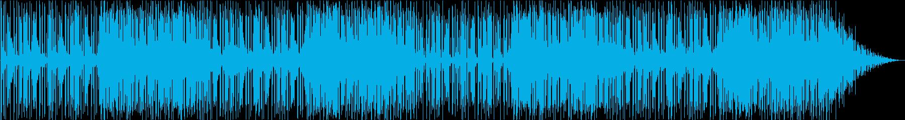 夢の中にいるような優しい雰囲気の曲の再生済みの波形