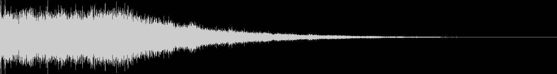 氷魔法03(冷気属性魔法)の未再生の波形