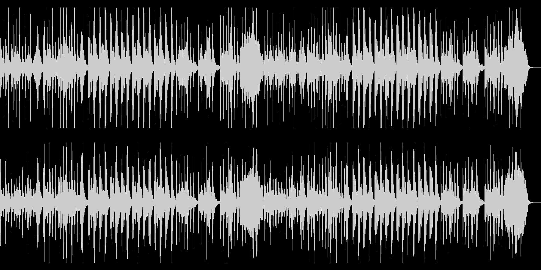ダーク、チェレスタ、シンプル、のっそりの未再生の波形