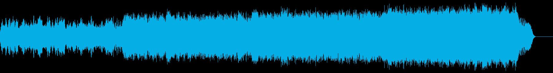 荘厳なオーケストラの鎮魂歌(レクイエム)の再生済みの波形