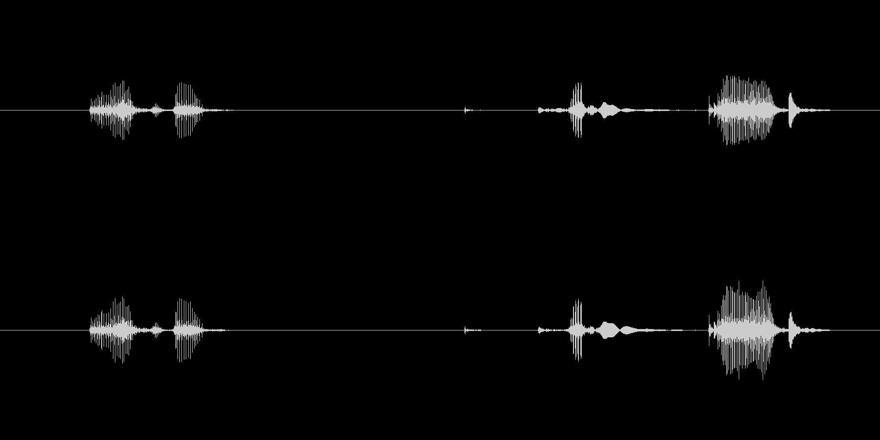 ボトル ポーションスモールクローズ01の未再生の波形