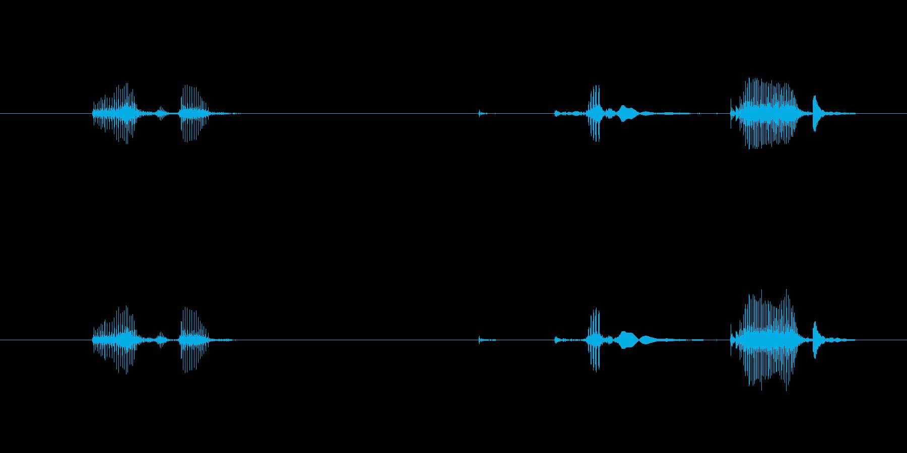 ボトル ポーションスモールクローズ01の再生済みの波形