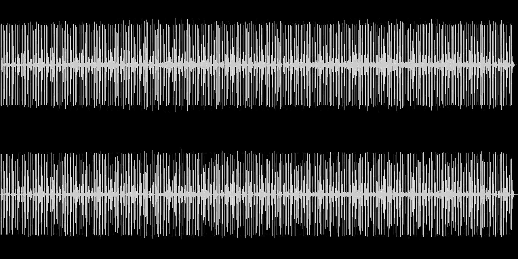 (˙꒳˙ᐢ)✋会話の邪魔にならない曲✋の未再生の波形