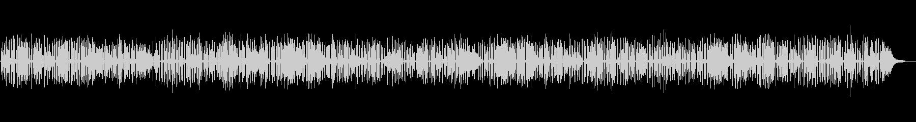 YouTube、軽快なジャズソロピアノの未再生の波形