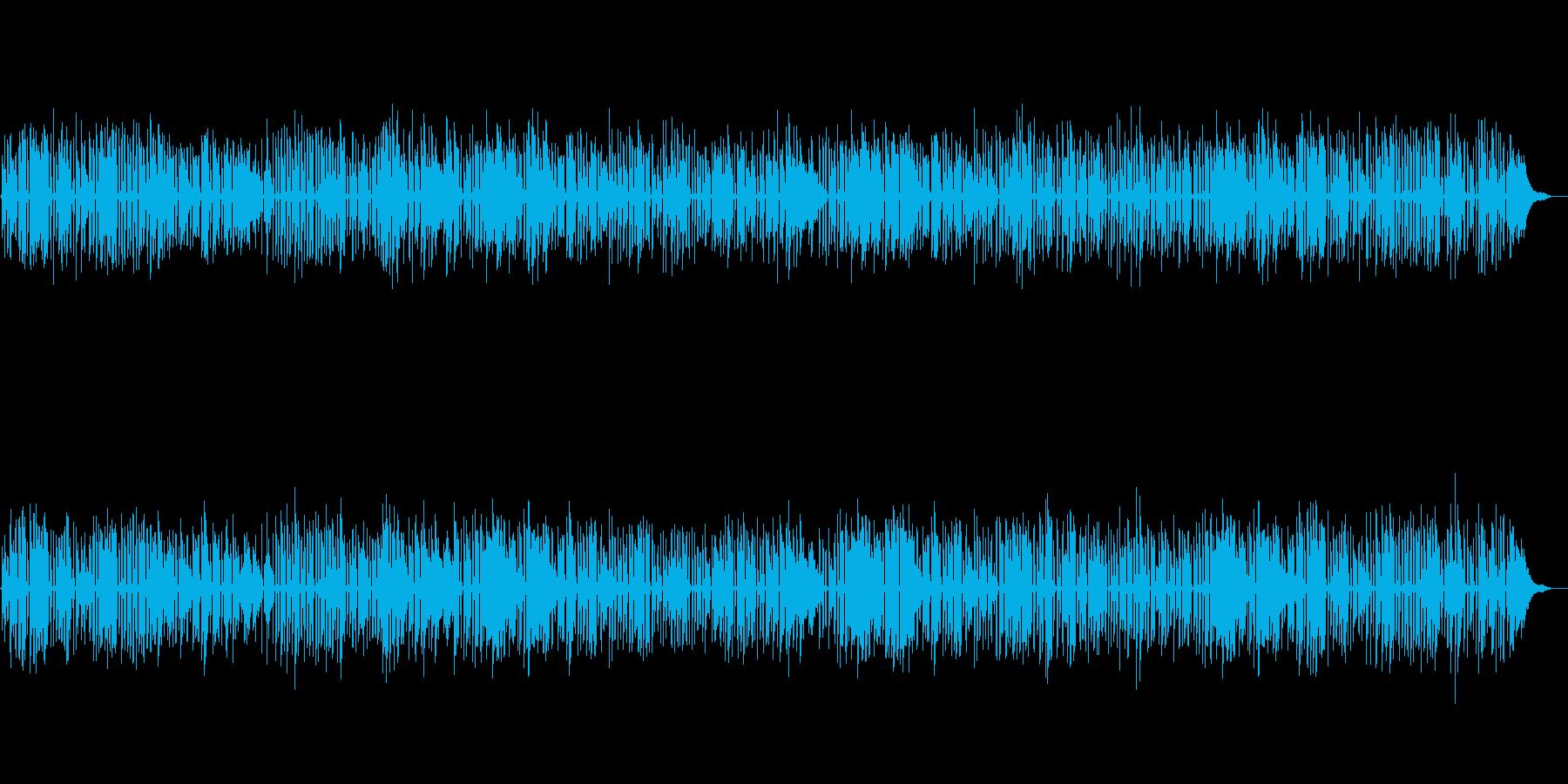 YouTube、軽快なジャズソロピアノの再生済みの波形