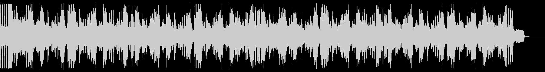 ビート強いドラムンベース。2の未再生の波形