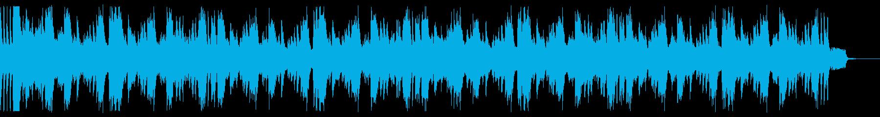 ビート強いドラムンベース。2の再生済みの波形