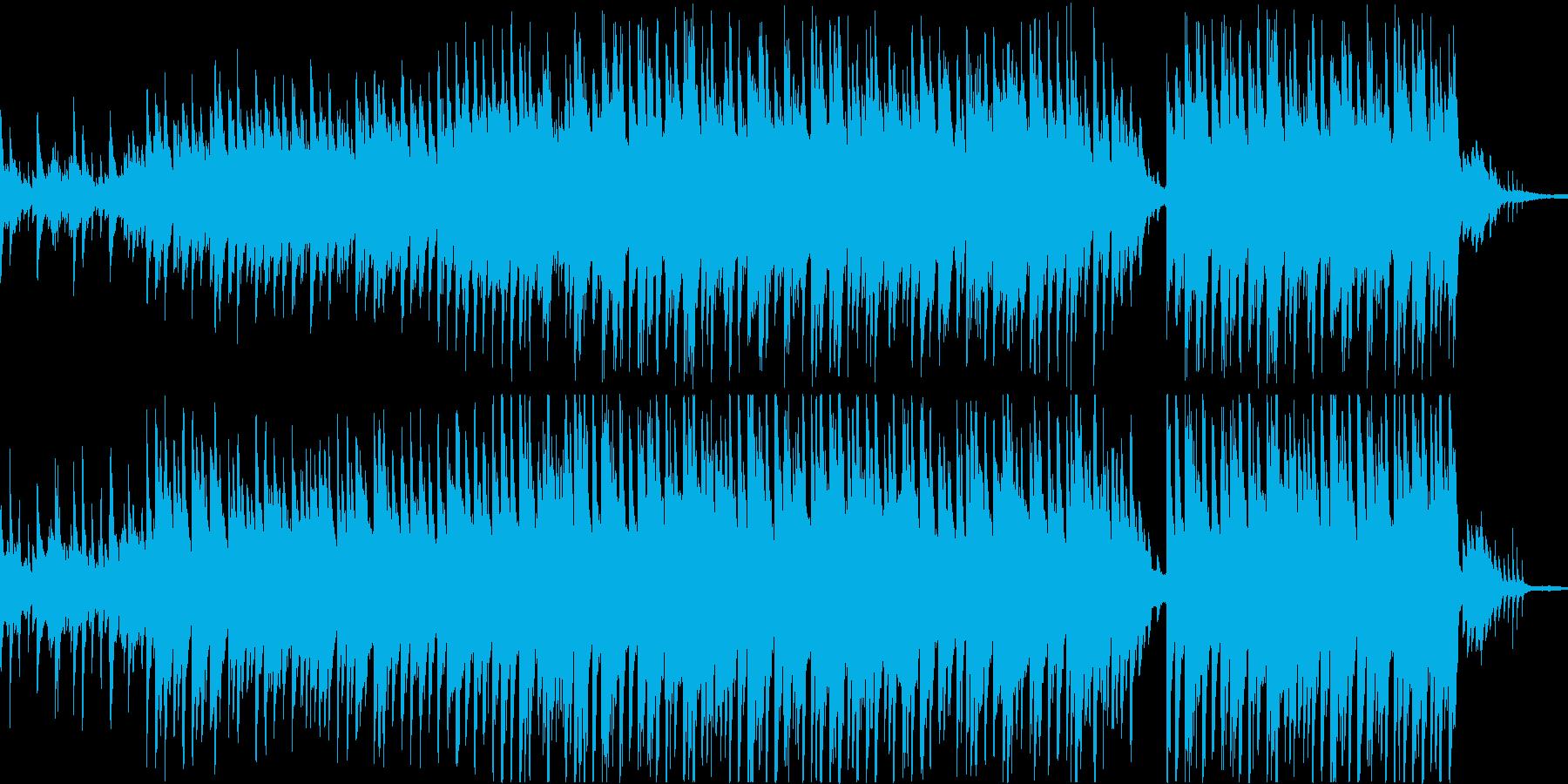 穏やかなピアノ曲3/OP・ED有の再生済みの波形