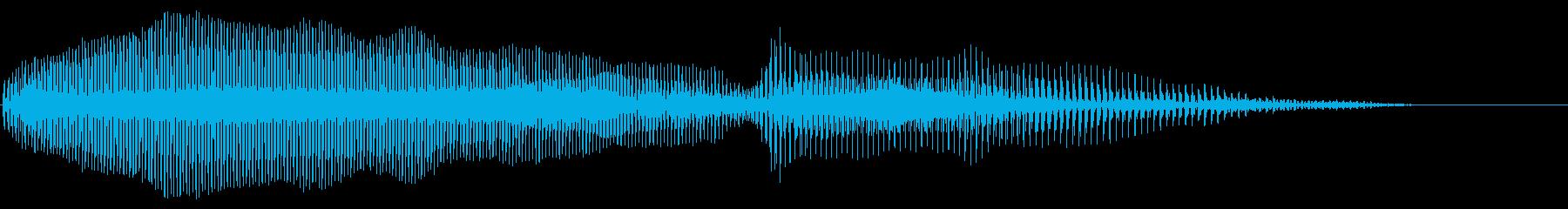 失敗 不正解 トランペットの再生済みの波形
