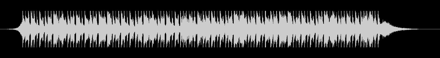 ベリーダンス(40秒)の未再生の波形