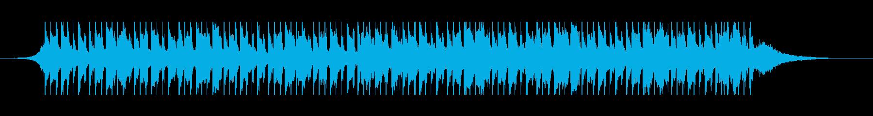 ベリーダンス(40秒)の再生済みの波形