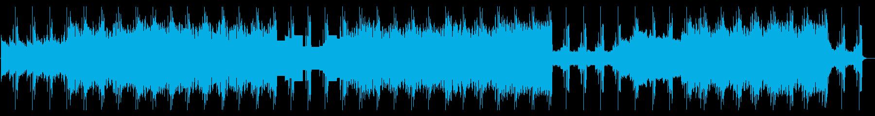 重い緊迫感 2の再生済みの波形