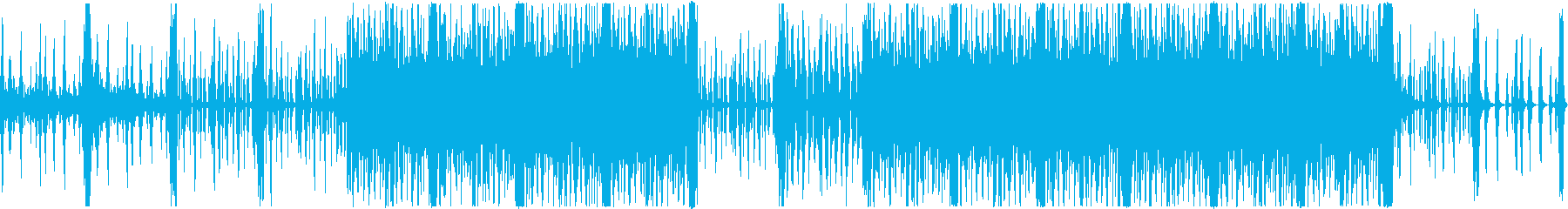 K-pop 洋楽 ポップ EDMの再生済みの波形
