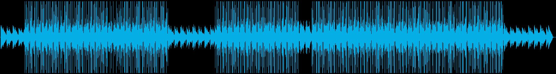 感動シーン・ドキュメンタリー映像向けの再生済みの波形