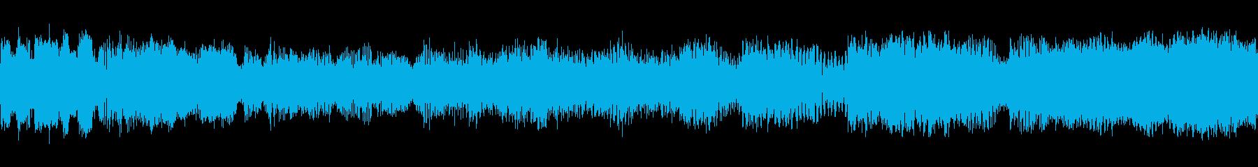 SLO MOトランジションの再生済みの波形