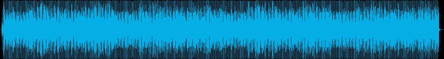 ポップス、ディスコぽいBGM 商品紹介の再生済みの波形