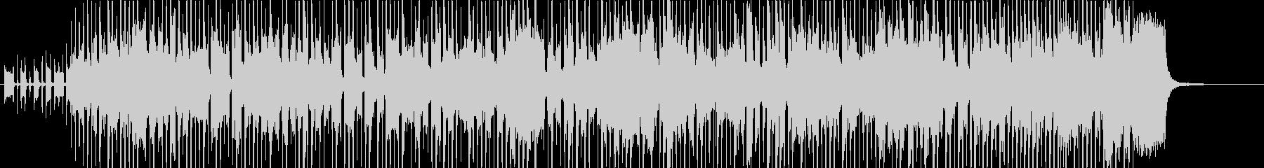 スラップベースの効いたファンク曲の未再生の波形