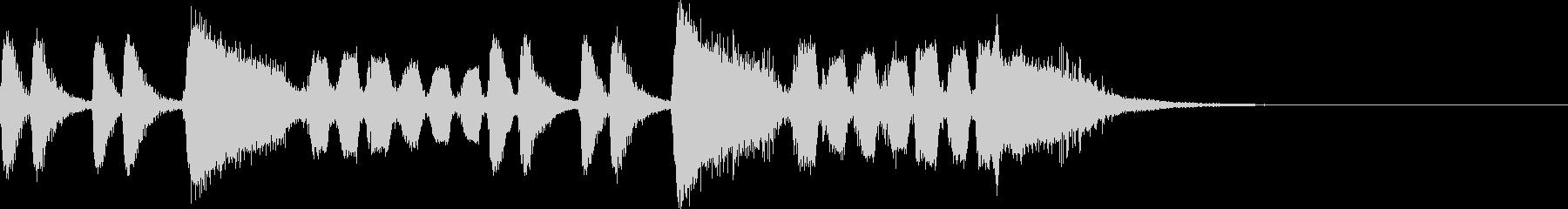 ヒーロー登場曲~金管楽器とサックス~の未再生の波形