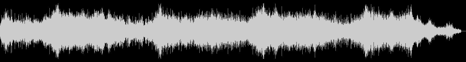 エピックダークなアンビエントテクスチャの未再生の波形