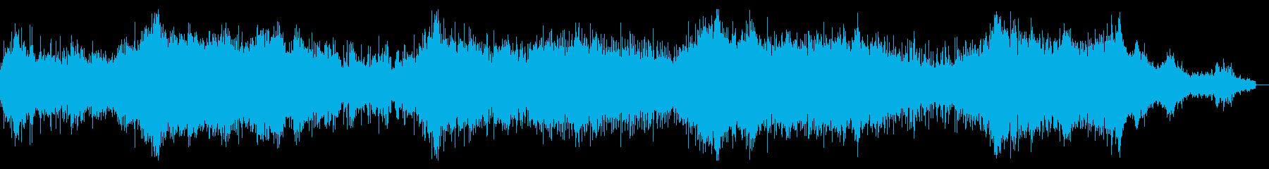 エピックダークなアンビエントテクスチャの再生済みの波形
