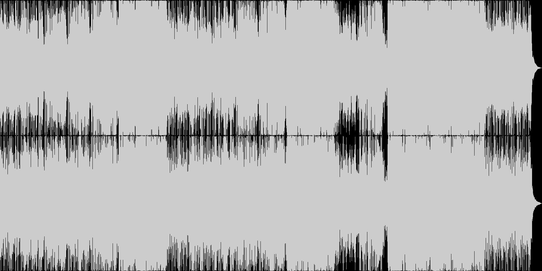 オシャレでクールな感じのバラードの未再生の波形