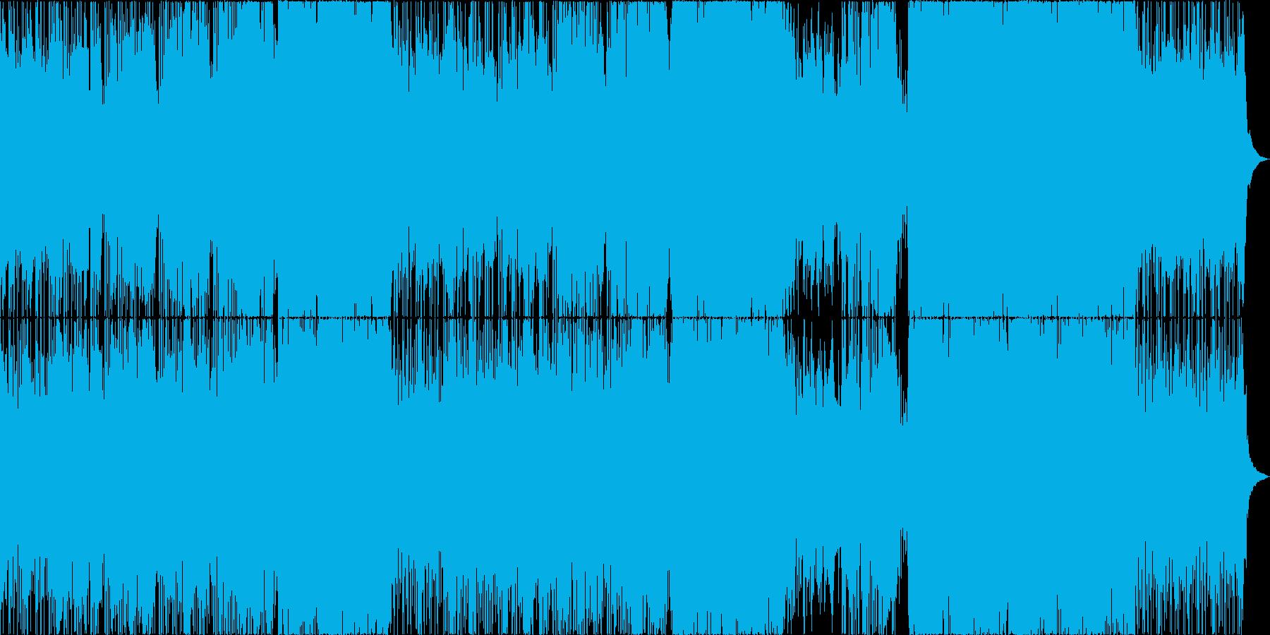 オシャレでクールな感じのバラードの再生済みの波形