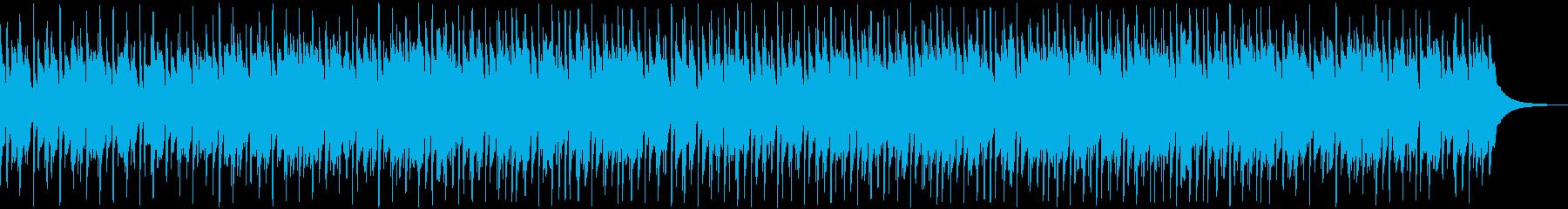楽しいウクレレ楽曲の再生済みの波形
