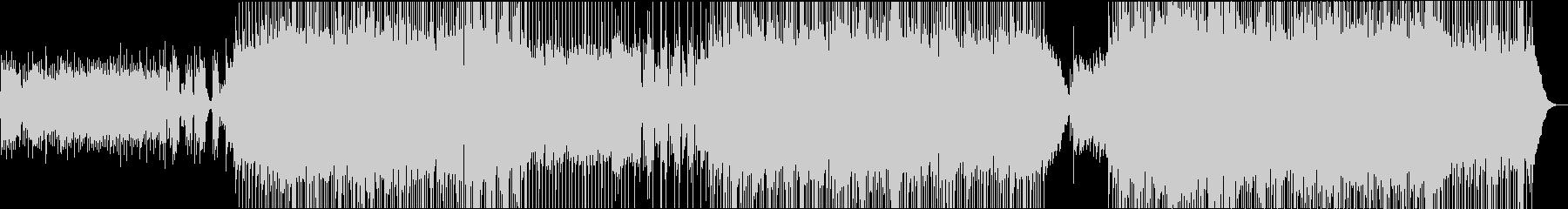 切ない/全生音/バンド/ロックバラードの未再生の波形