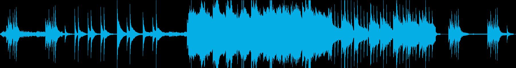 夜・幻想的な星々/温もりサックスBGMLの再生済みの波形