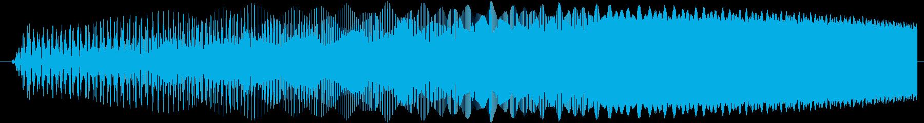 ブゥーン(チャージ・ゲージ上昇)の再生済みの波形