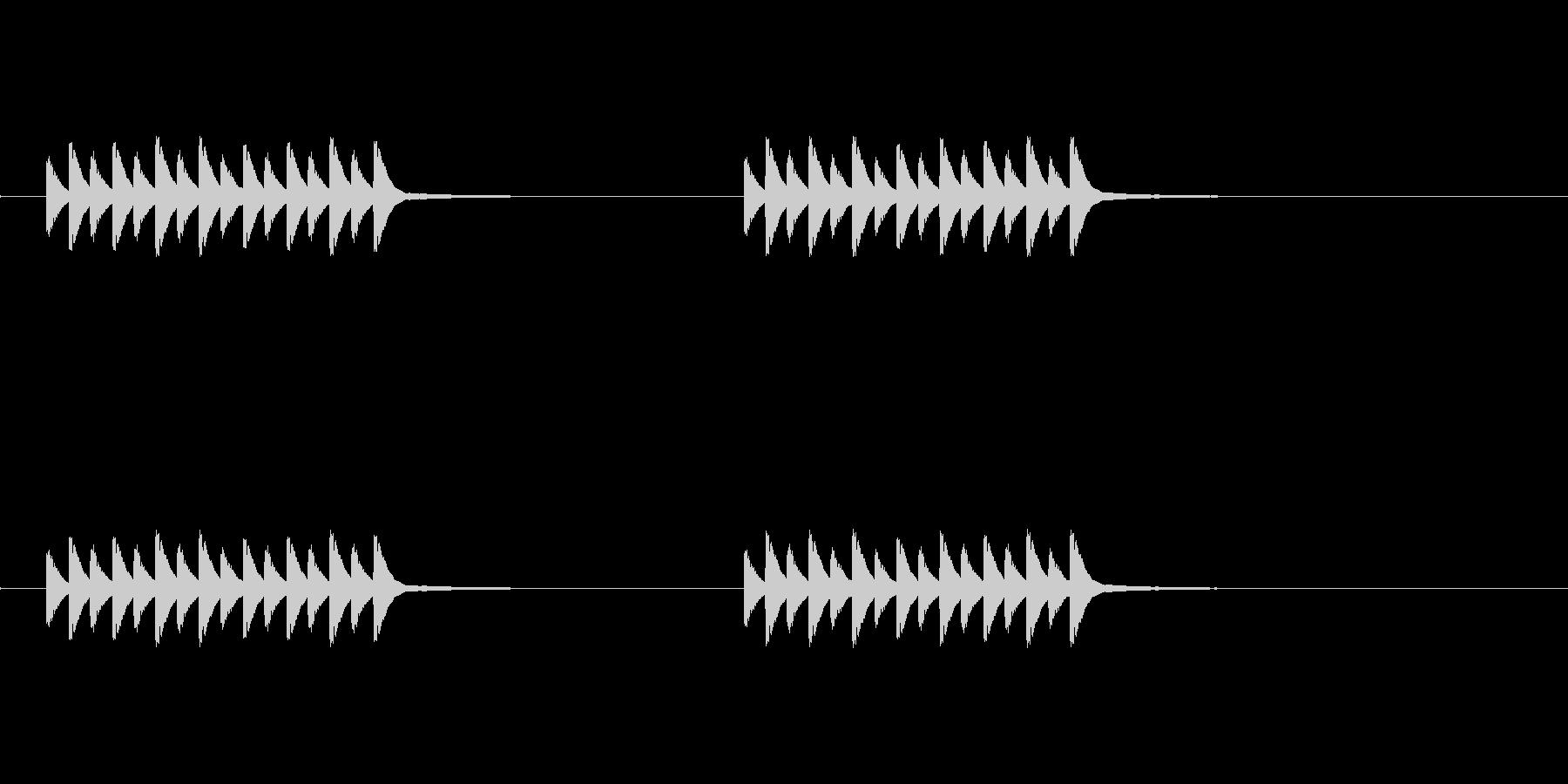 スマホ系コール音の未再生の波形
