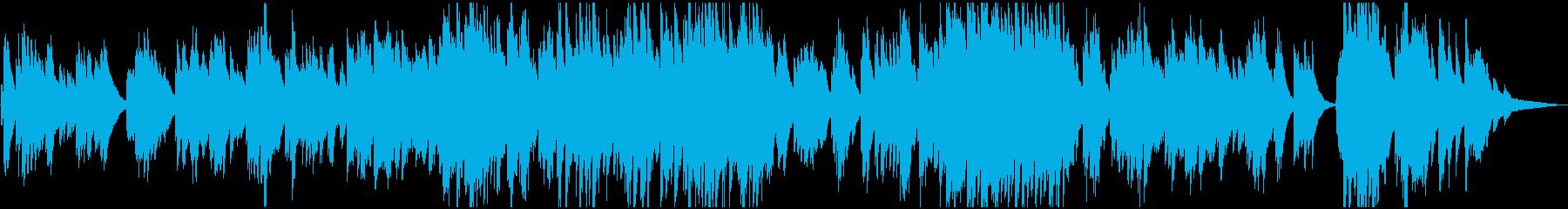 映画・ゲーム 切ないピアノバラードの再生済みの波形